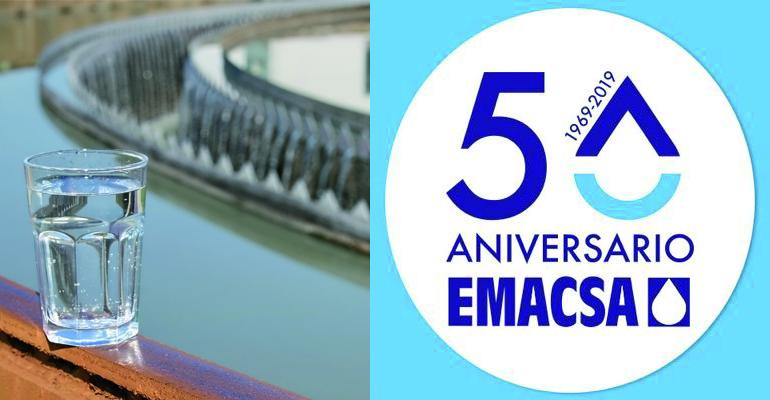 Emacsa organiza una jornada técnica sobre gestión del saneamiento en el marco de su 50 aniversario