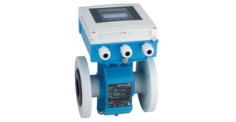 Endress+Hauser: Caudalímetro electromagnético para aguas y aguas residuales