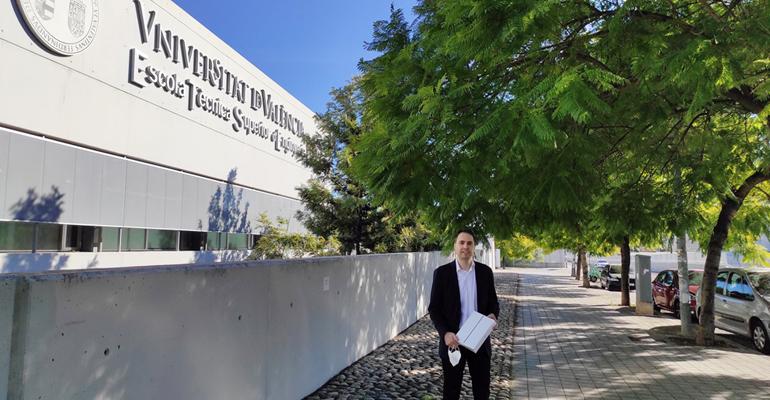Entrevista a Francisco Casas, premio TFM de la Cátedra DAM