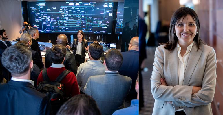 Entrevista a Pilar Conejos, responsable de Regulación y Control de la Red de Alta de Valencia y su área metropolitana en Global Omnium