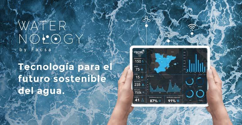 Waternology, la nueva marca comercial de Facsa para la gestión inteligente del agua
