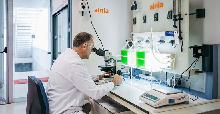 Laboratorio del centro tecnológico Ainia