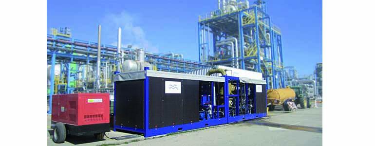 Los sistemas Alfa Laval ZLD están basados en intercambiadores de calor