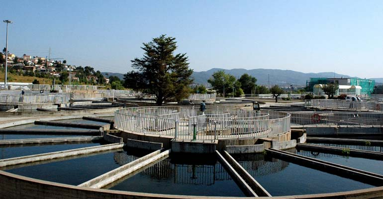Estación de tratamiento de agua potable (ETAP) Llobregat