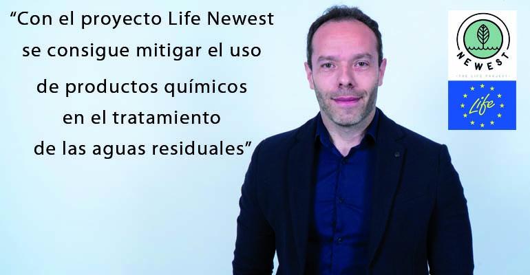 Sergio Lloret, responsable técnico del proyecto Life Newest