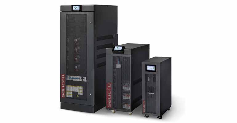 Sistema de alimentación ininterrumpida con IOT serie SLC CUBE4 de Salicru