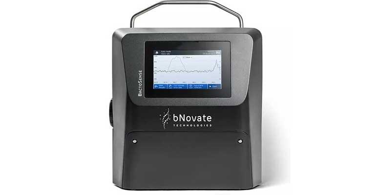 actoSense, el citómetro de flujo portátil diseñado para la monitorización microbiológica on line de agua potable representado por Teqma