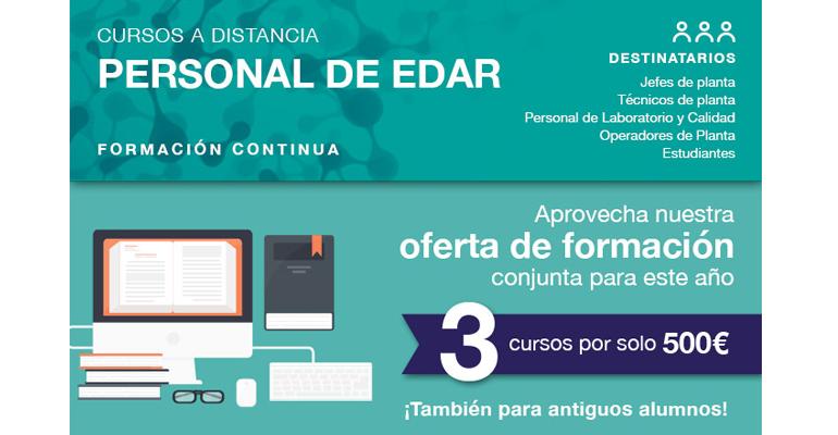 GBS lanza una oferta de formación para personal de EDAR en su última convocatoria del año