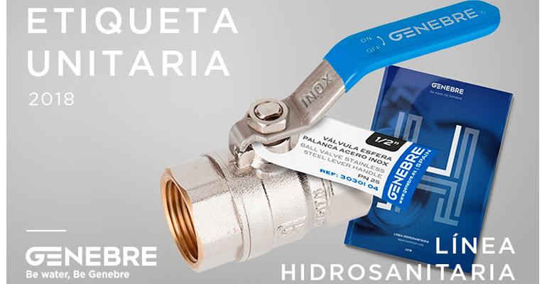 genebre-etiquetaje-linea-hidrosanitaria-valvulas-accesorios