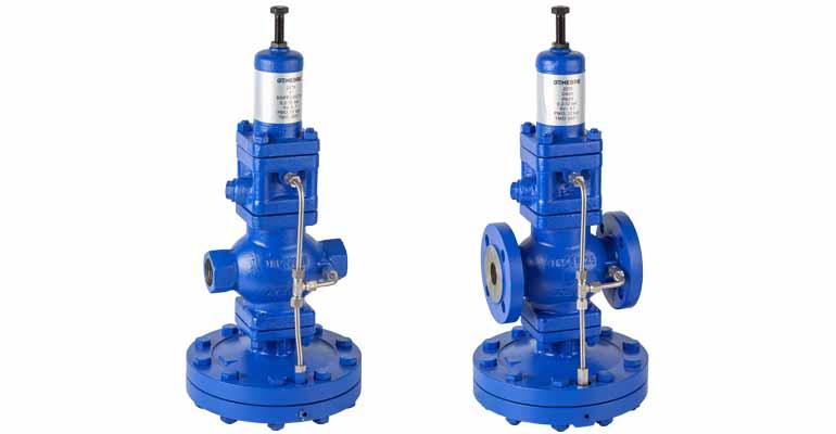 Genebre: Válvulas reductoras de presión pilotadas