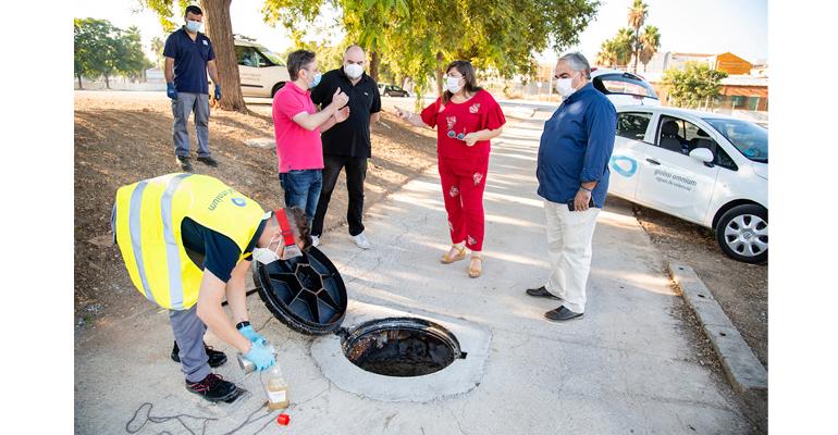 Alcàsser continúa con la búsqueda de la COVID-19 en las aguas residuales de todo el municipio