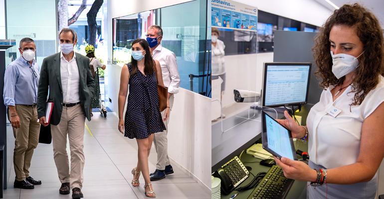 La inteligencia artificial de Global Omnium blinda contra la COVID-19 la oficina de atención al cliente de Emivasa