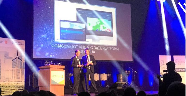 goaigua-premio-internacional-aquatech-plataforma-innovacion