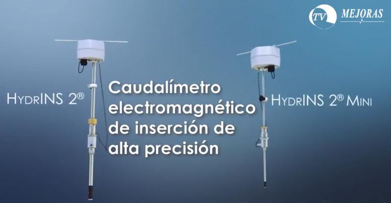 Grupo Mejoras: Caudalímetro electromagnético para agua potable y bruta