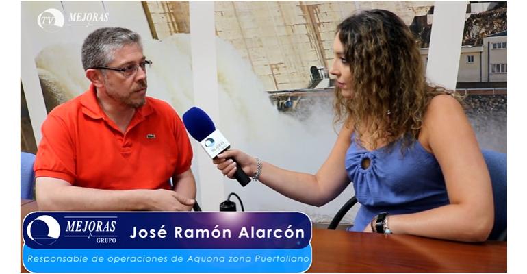 Vídeo Grupo Mejoras: Entrevista con José Ramón Alarcón, responsable de operaciones en Aquona zona Puertollano
