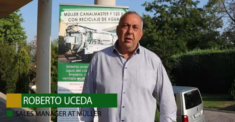 Vídeo Grupo Mejoras: Entrevista a Roberto Uceda, sales manager en Müller