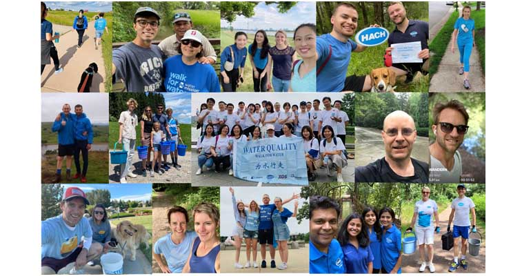 Participación de Hach en la iniciativa solidaria Walf for Water