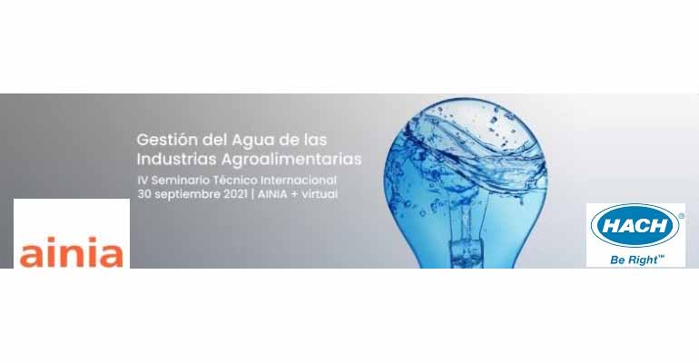 Hach Iberia, presente en un seminario sobre gestión del agua de las industrias agroalimentarias