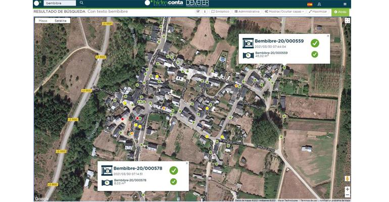 Hidroconta y la telelectura en municipios rurales. El caso del municipio leonés de Bembibre