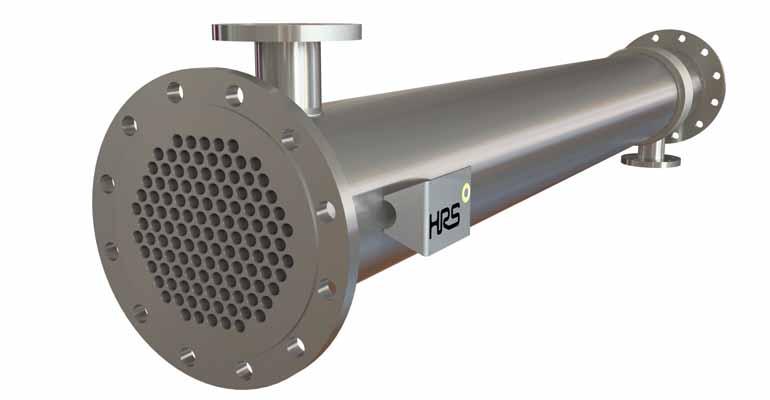 HRS Heat Exchangers: Intercambiadores de calor multitubo industriales