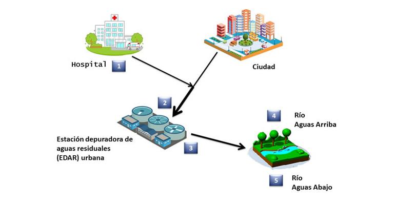 Las depuradoras no eliminan todos los antibi ticos for Depuradora aguas residuales
