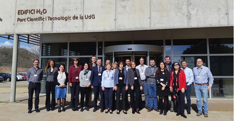 El ICRA crea un ´laboratorio´ europeo de doctorandos para mejorar la innovación tecnológica en el tratamiento de aguas