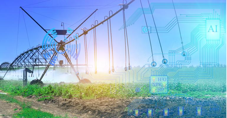 Tendencias sobre agua en el sector agrario para 2021: riego inteligente y telelectura