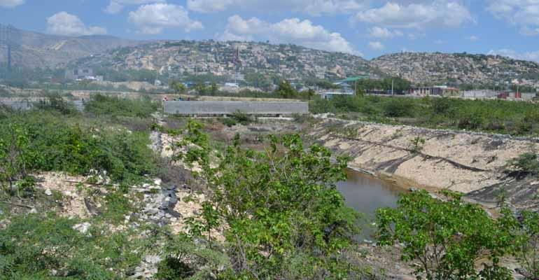 Incatema escoge el lagunaje como sistema de depuración de aguas residuales en Titanyen (Haití)