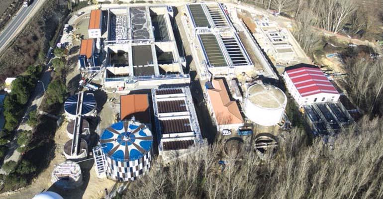 GS Inima explotará la EDAR de Segovia