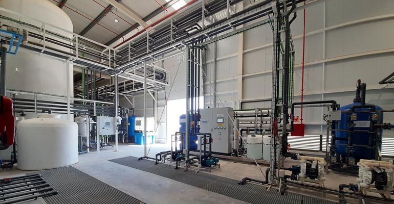 Solución global al tratamiento de aguas en la industria aeronáutica