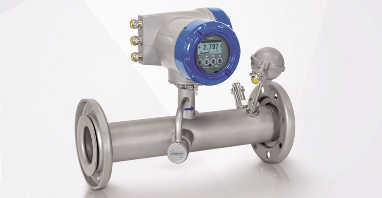 Krohne: Caudalímetro para la medida de biogás