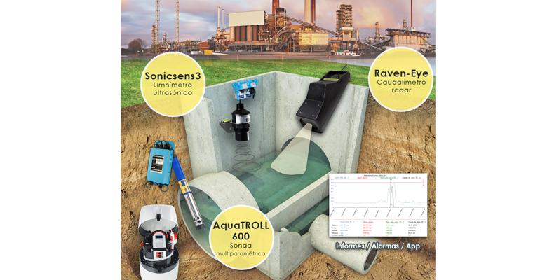 Mejoras Energéticas: Control continuo de vertidos en las redes de saneamiento