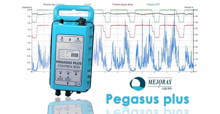 Pegasus y gestión activa de presiones en redes de distribución de agua de Mejoras Energéticas