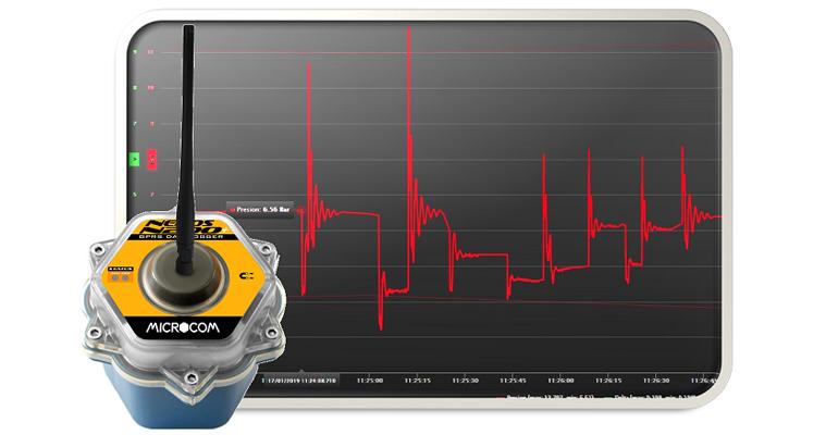 Microcom: Datalogger para la detección de golpes de ariete