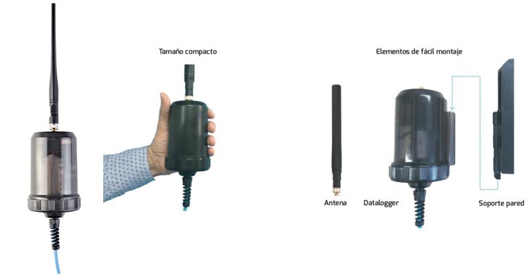 Microcom: datalogger para sectorización de redes de agua
