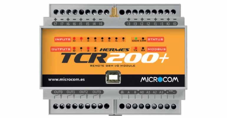 Microcom: Equipo de telecontrol y telemetría para instalaciones de agua