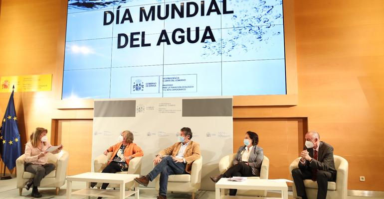 El Miteco anuncia 7.000 millones de euros en inversiones en materia de agua