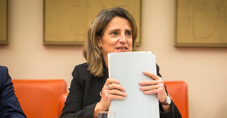Teresa Ribera fija como prioridad en materia de agua el refuerzo de los sistemas de depuración y saneamiento