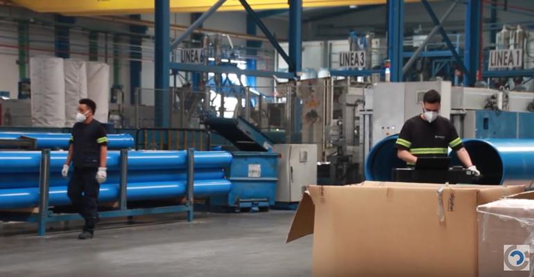 Molecor construye en tiempo récord un entorno laboral seguro para todos sus trabajadores