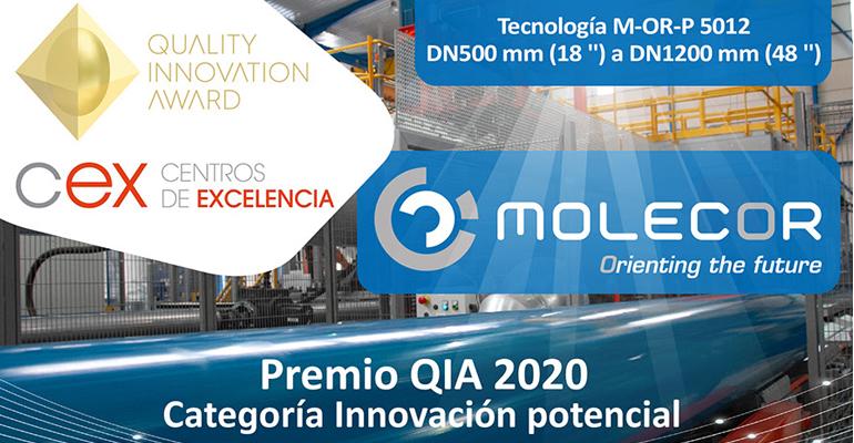 molecor-galardonada-premios-quia2020