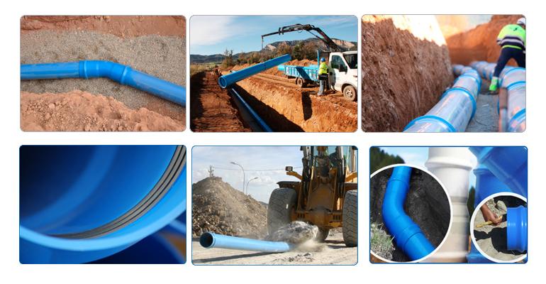 Molecor: Tuberías y accesorios de PVC-O para redes de abastecimiento de agua