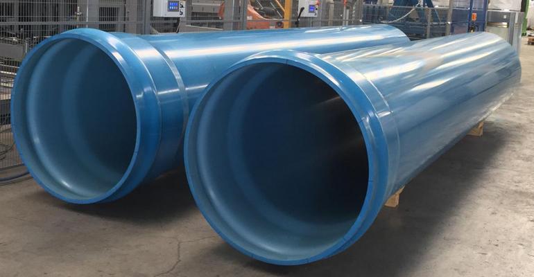 Molecor: Tubería de PVC-O de 1.000 mm de diámetro