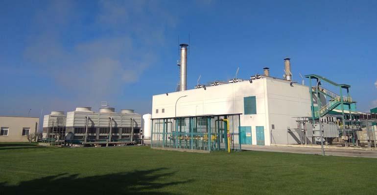 Planta de tratamiento de purines en Artajona, donde Neolectra aplica su sistema de secado térmicos de lodos de depuradora