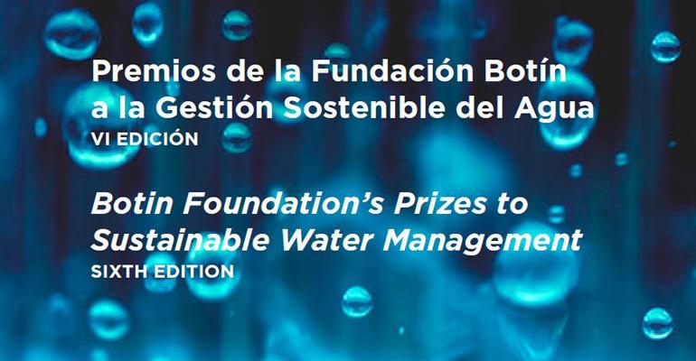 El Observatorio del Agua de la Fundación Botín convoca sus premios a la gestión sostenible del agua