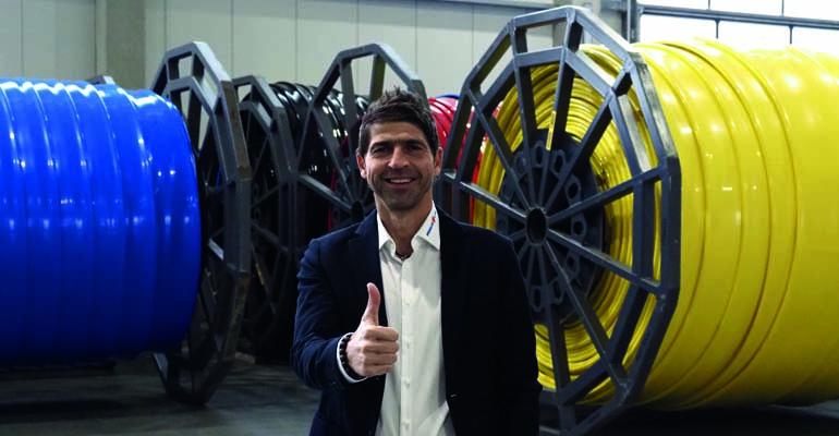 Werner Rädlinger, propietario y director general, destaca los altos estándares de calidad establecidos en la fabricación de Primus Line