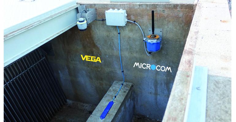 Supervisión de aliviaderos mediante sonda capacitiva para detección de vertidos y tecnología radar para medida de nivel