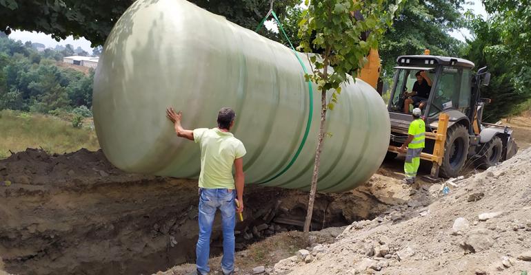Remosa suministra en Portugal una cisterna de agua para regar campos de golf y fútbol