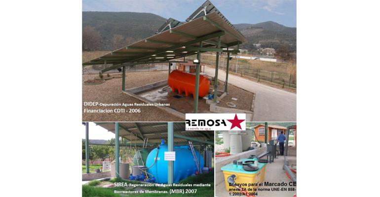 Remosa y Eurecat buscan proyecto Life sobre economía circular aplicada a las aguas residuales