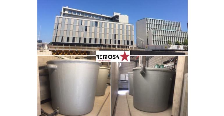 Remosa instala un equipo de regeneración de aguas grises en una residencia universitaria de Barcelona