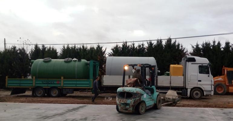Remosa suministra un separador de hidrocarburos a un taller de coches en Peñafiel